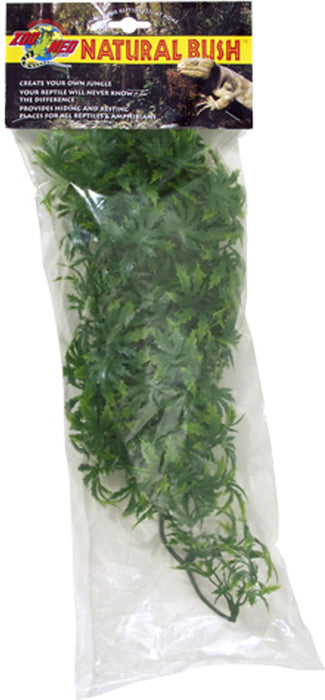Zoo Med Laboratories Inc-Natural Bush Plants Cannabis- Green Medium/18 In - Key Pet Supplies