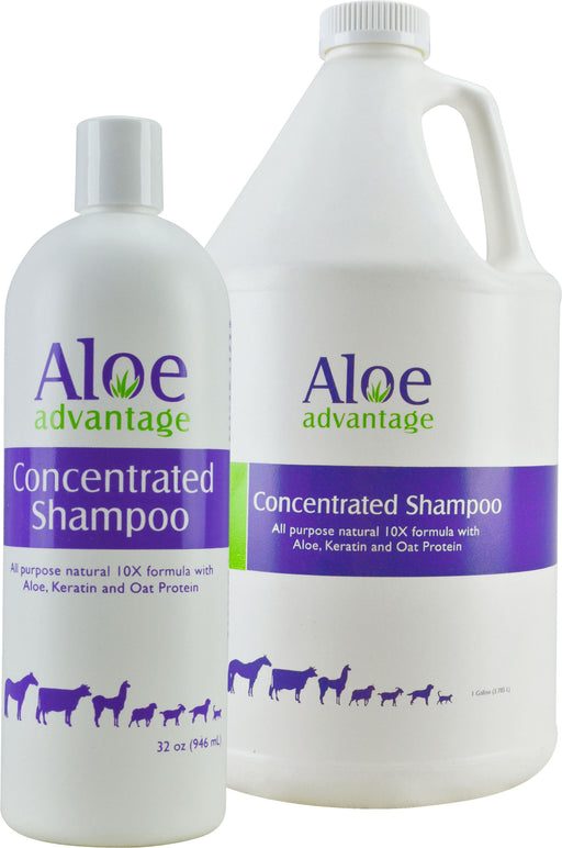 Durvet/equine           D - Aloe Advantage Concentrated Shampoo 8:1 - Key Pet Supplies
