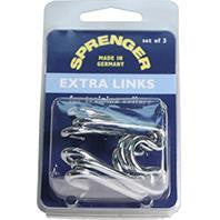 Coastal Pet Products-Sprenger Extra Links For Dog Training Collar- Silver 3.8 Mm - Key Pet Supplies