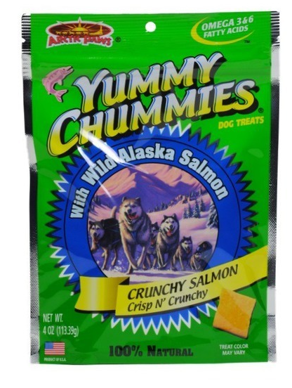 Arctic Paws - Yummy Chummies Crunchy Salmon Dog Treats