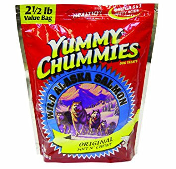 Arctic Paws-Yummy Chummies Soft N Chewy Dog Treats Value Pack- Salmon 40 Ounce