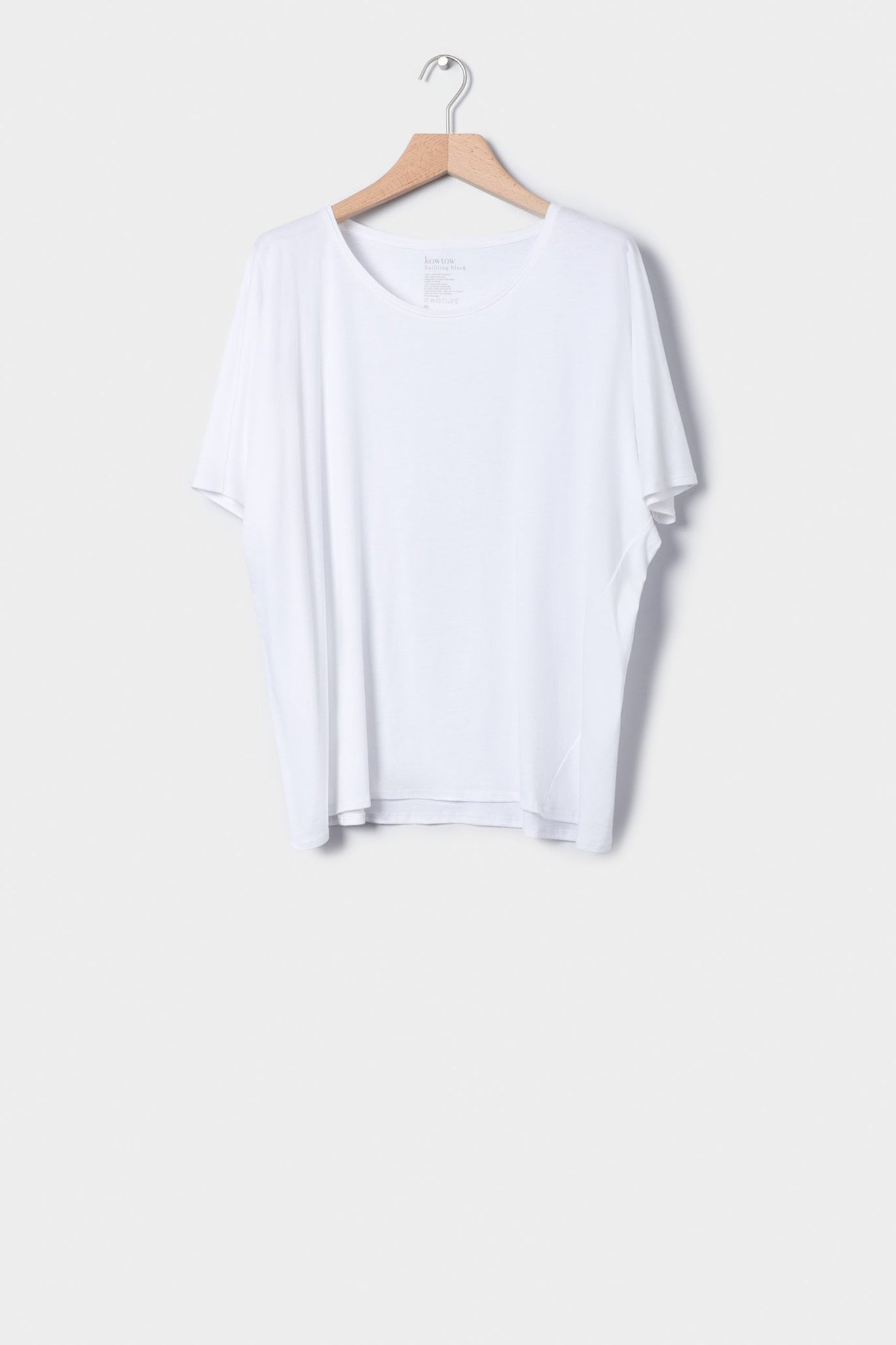 Building Block Oversized Tee, White