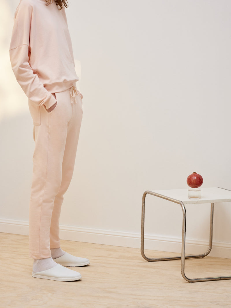 Building Block Track Pant, Light Pink