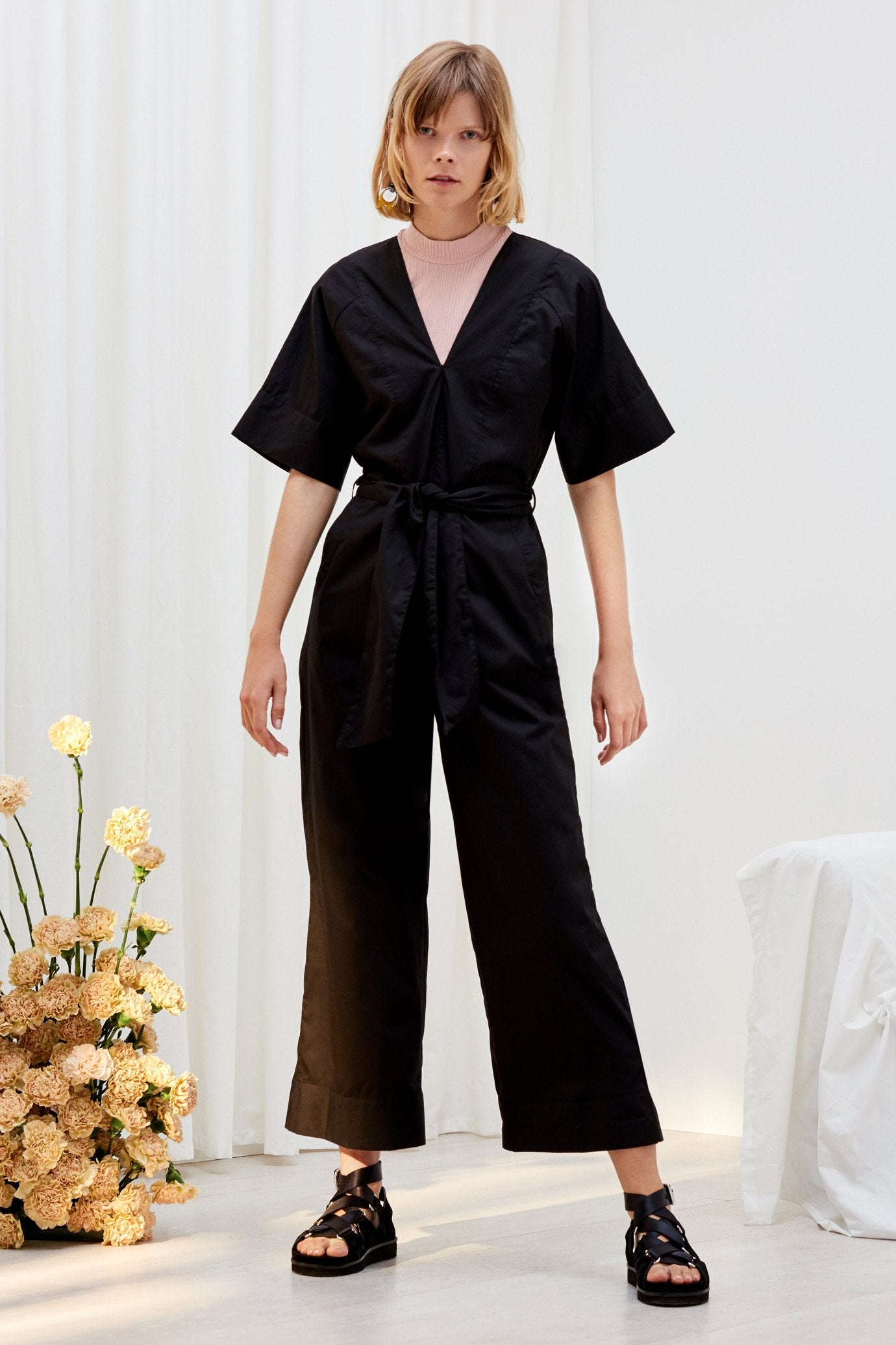 Derby Jumpsuit, Black