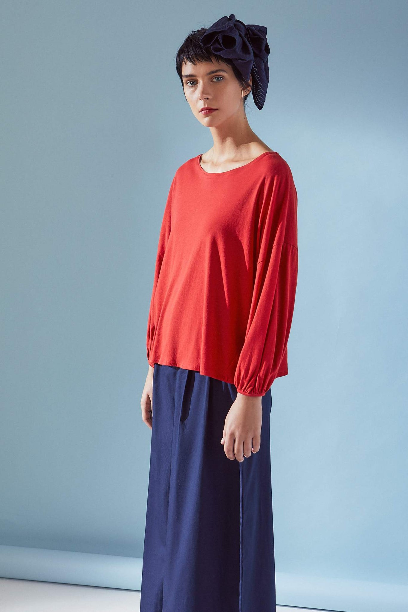 Gather Sleeve Top