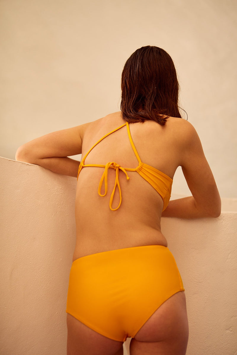 High Waisted Brief, Marigold