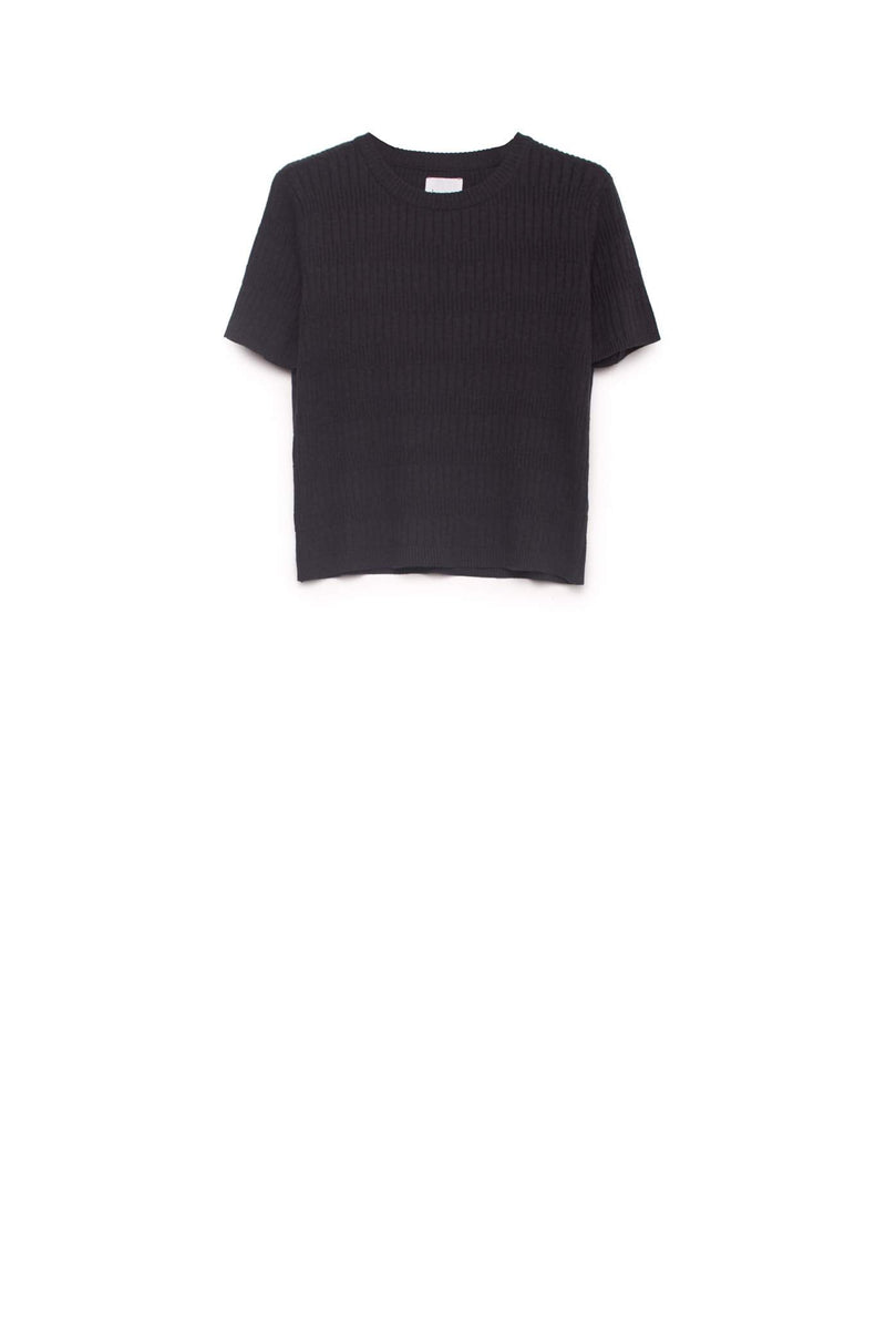 Illusion Knitted Tee