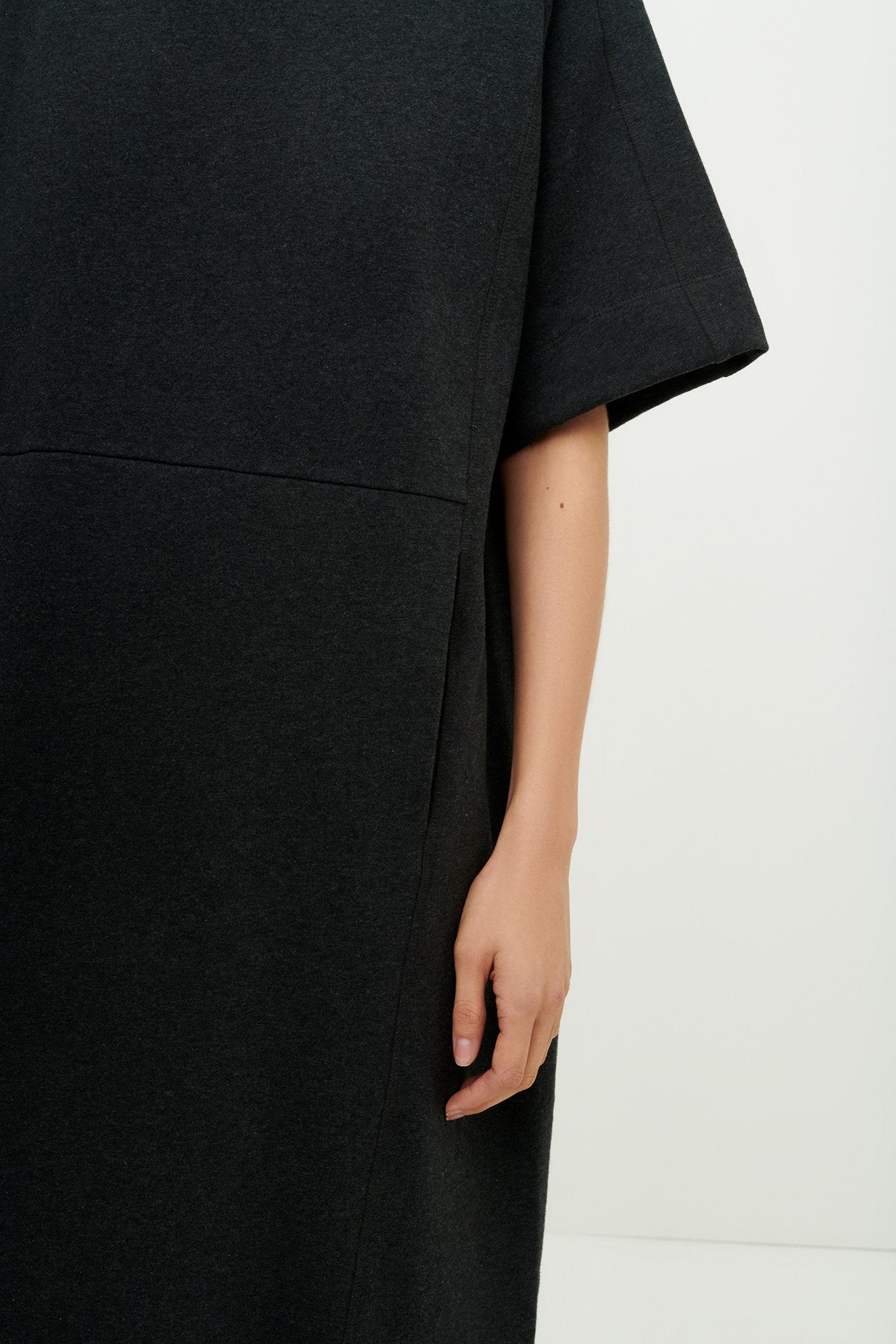 Linear T-Shirt Dress