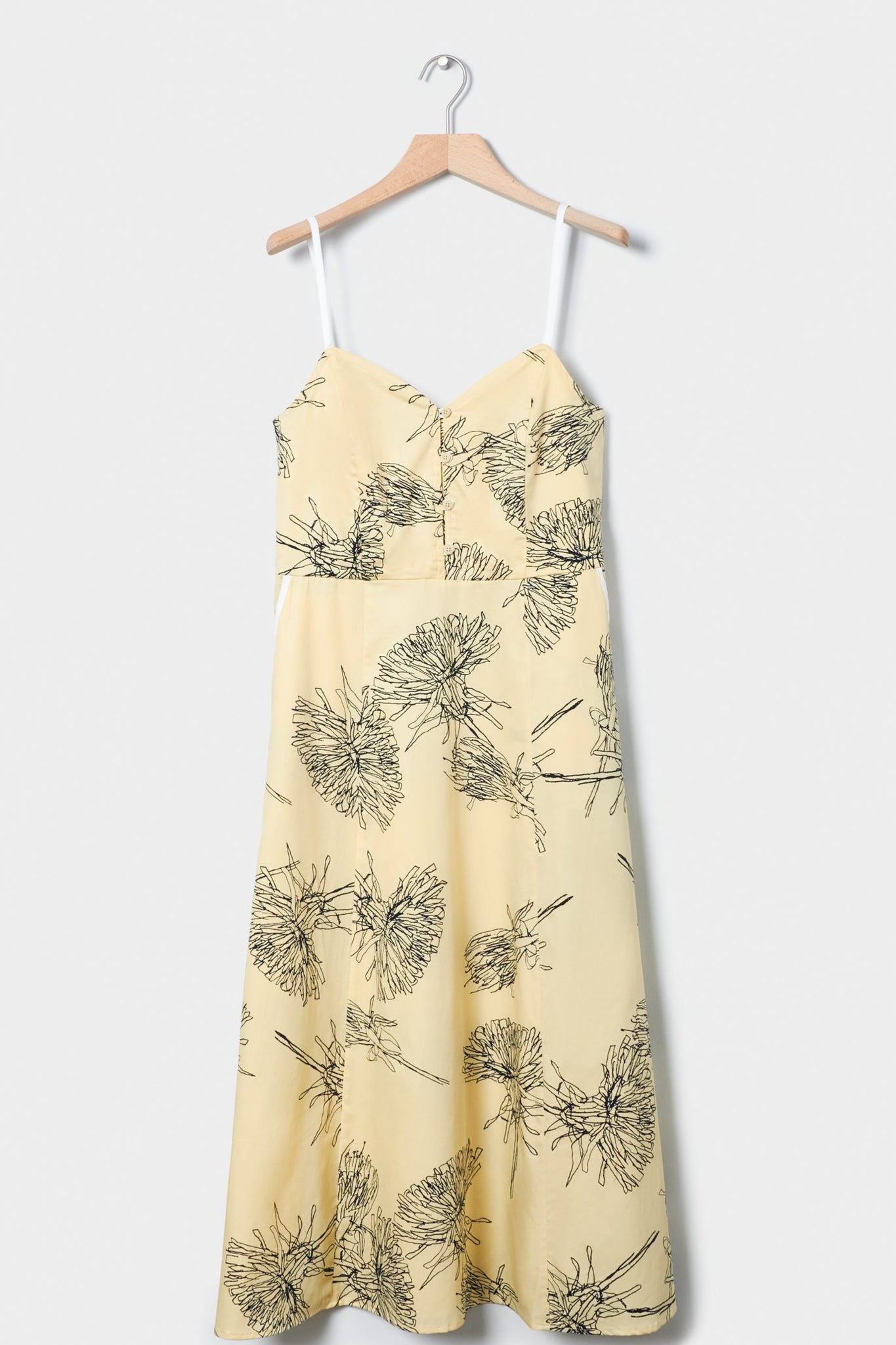 Poet Dress, Dandelion Lemon