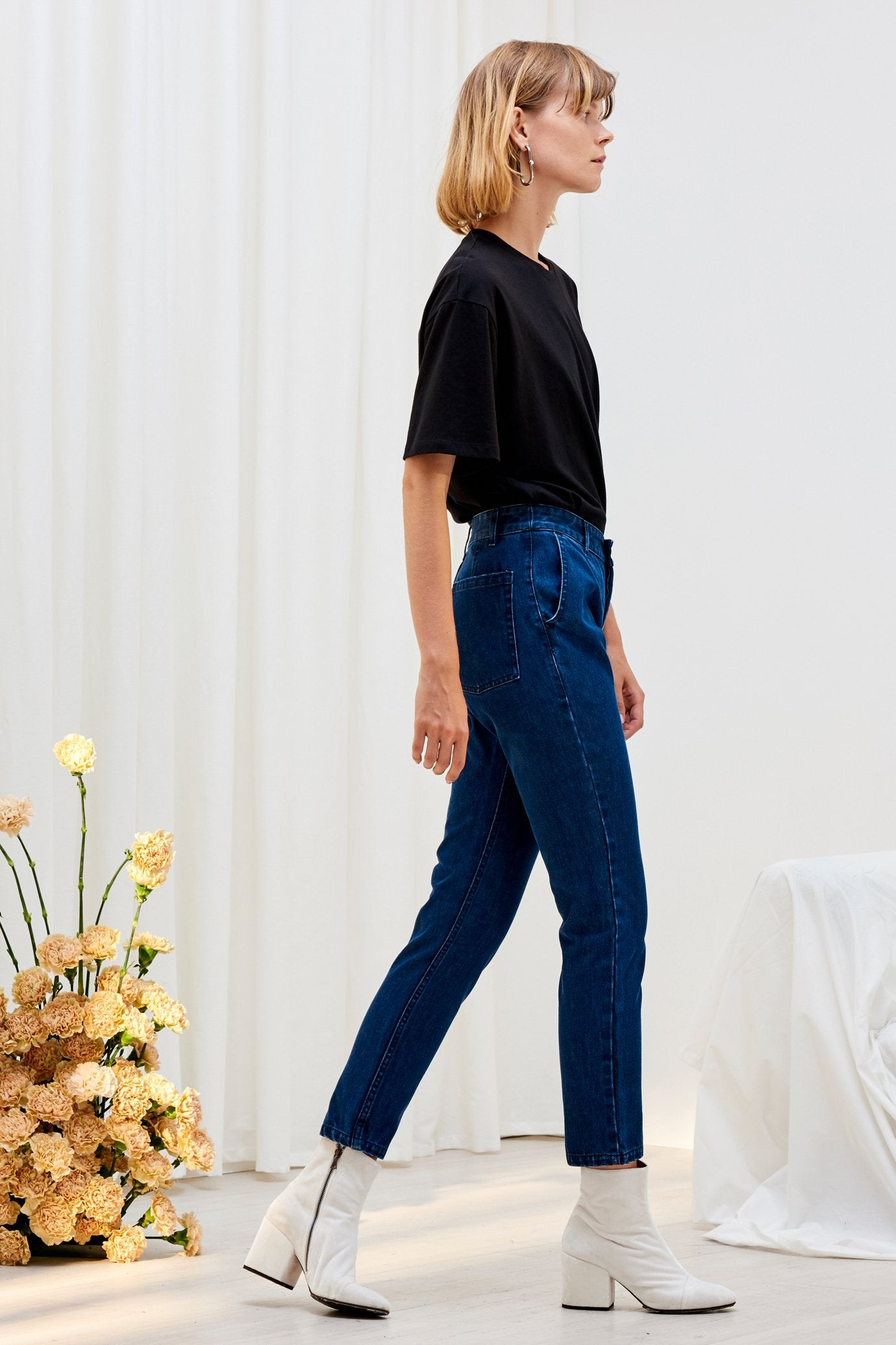 Rally Pant, Classic Denim