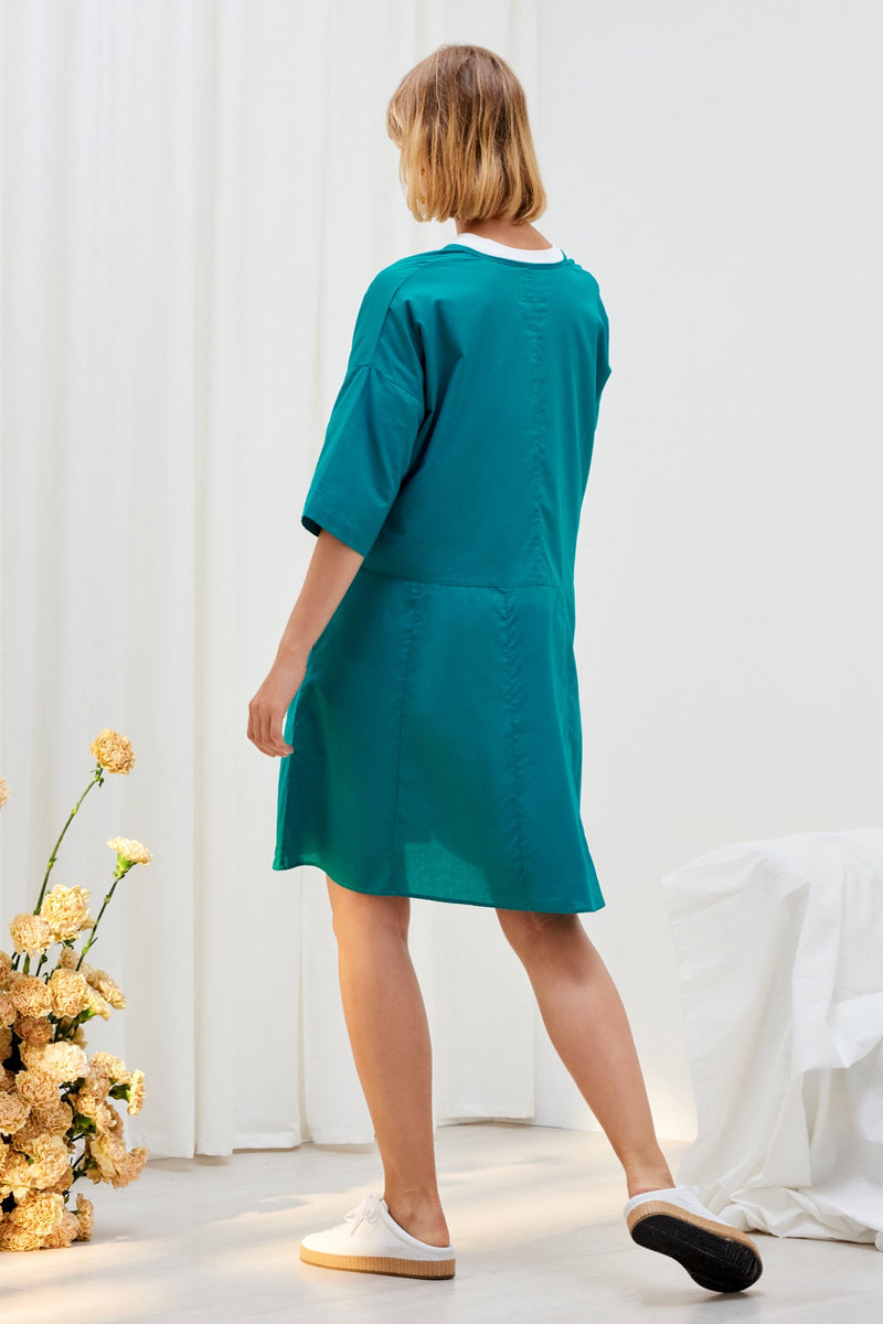 Reflection Dress, Emerald
