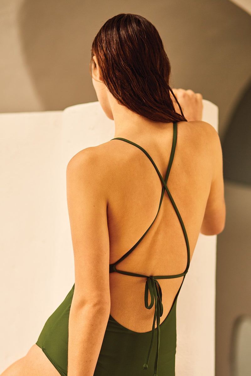 Tie Back One Piece, Ivy