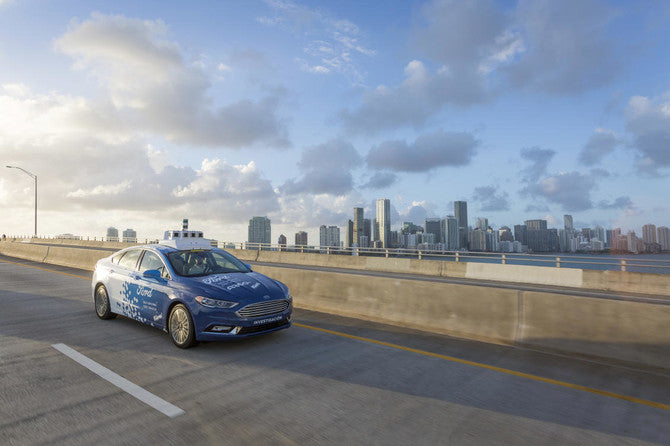 FORD AND MIAMI TO FORM TEST BED FOR SELF-DRIVING CARS