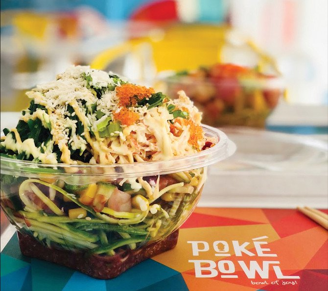 WHERE WE ARE GOING TODAY: POKE BOWL