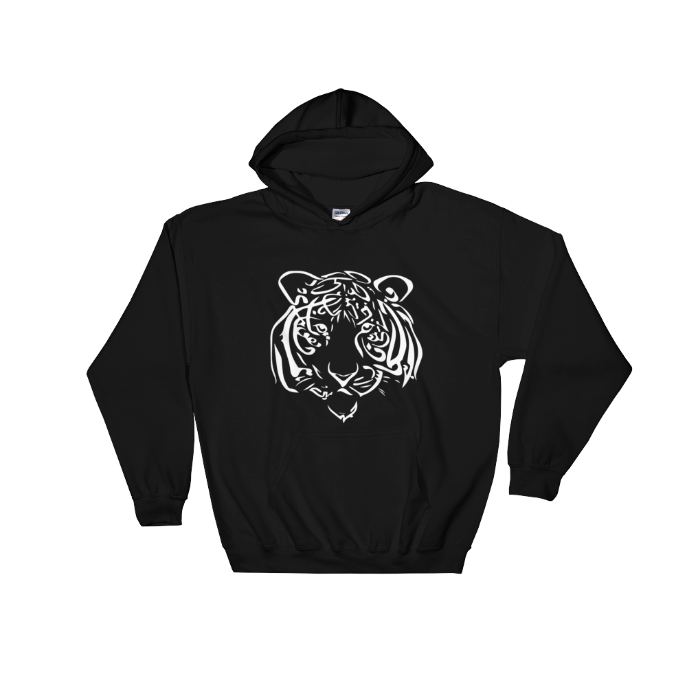 Tiger Calligraphy [White Edition] Hoodie