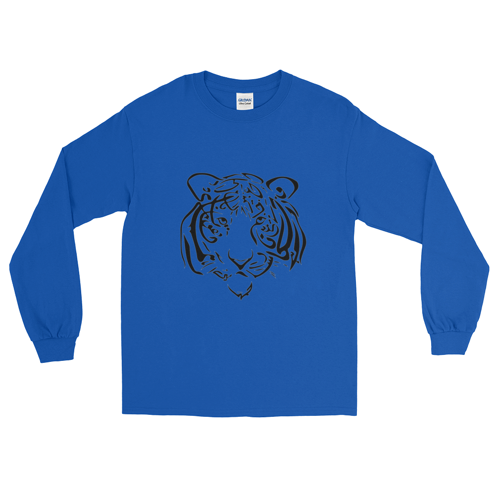 Tiger Calligraphy LS