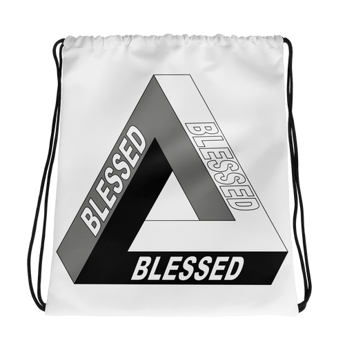 Blessed Drawstring bag
