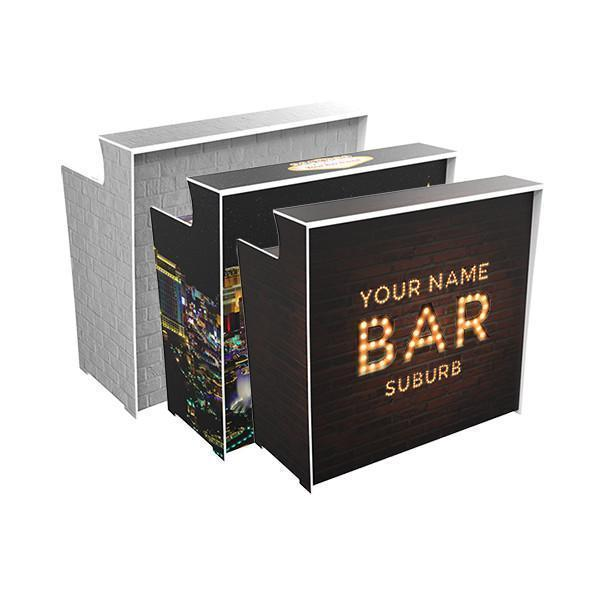Personalise 'Pop Up Bars'