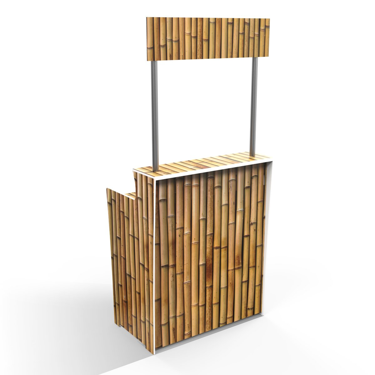 Bamboo Natural 'Pop Up Bar'