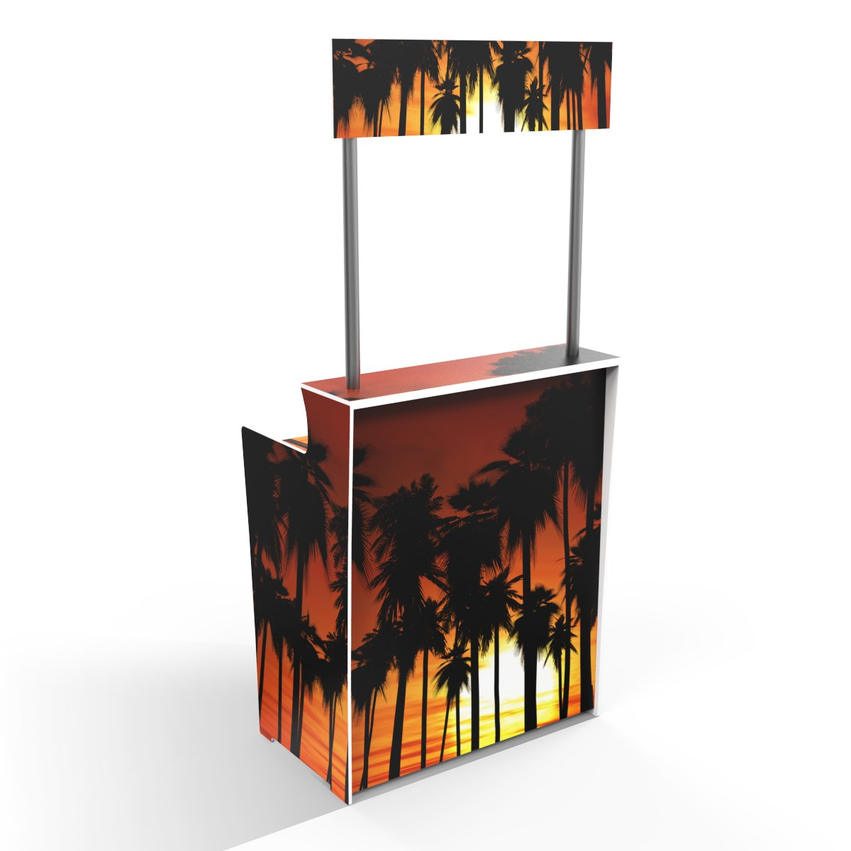 Palm Tree Sunset , From Where You'd Rather Be! 'Pop Up Bar'
