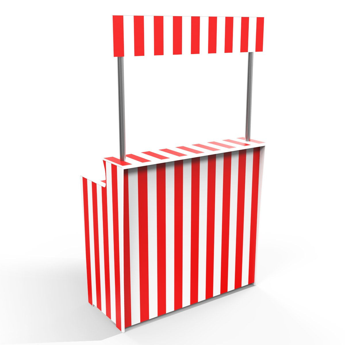 Red Stripes 'Pop Up Bar'
