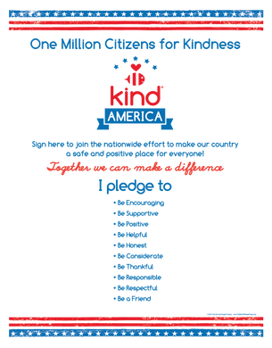 Be Kind American Citizen Poster ($4.50)