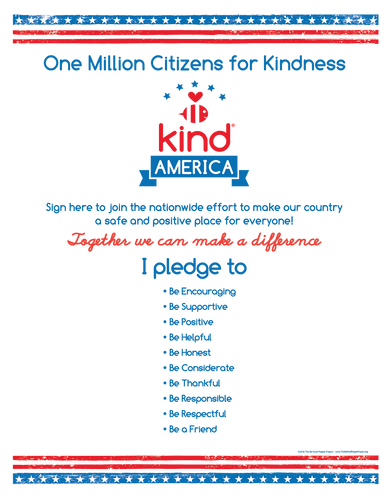 Be Kind American Citizen Poster