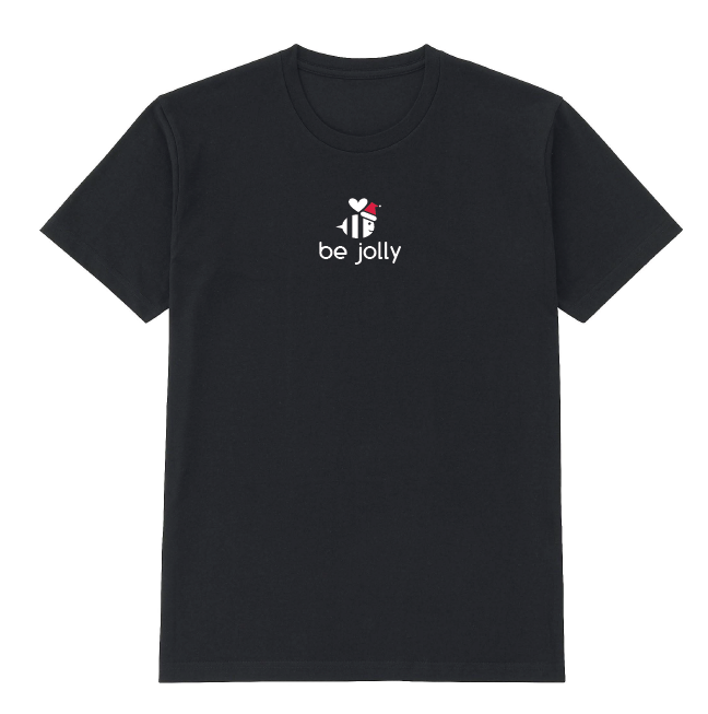 Be Jolly Black Holiday T Shirt ($13.99)