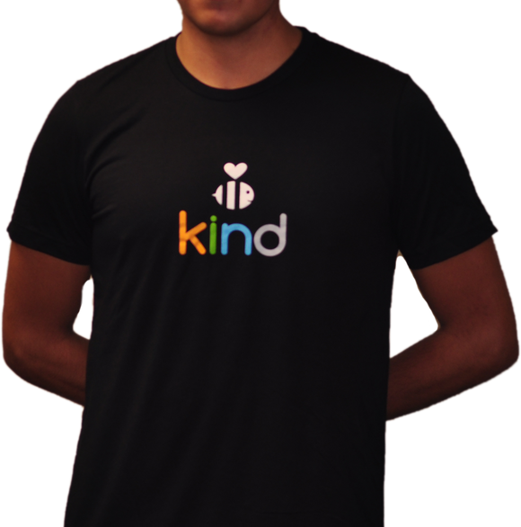 Classic Black Be Kind Short Sleeve