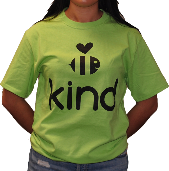 Be Kind Green Tee