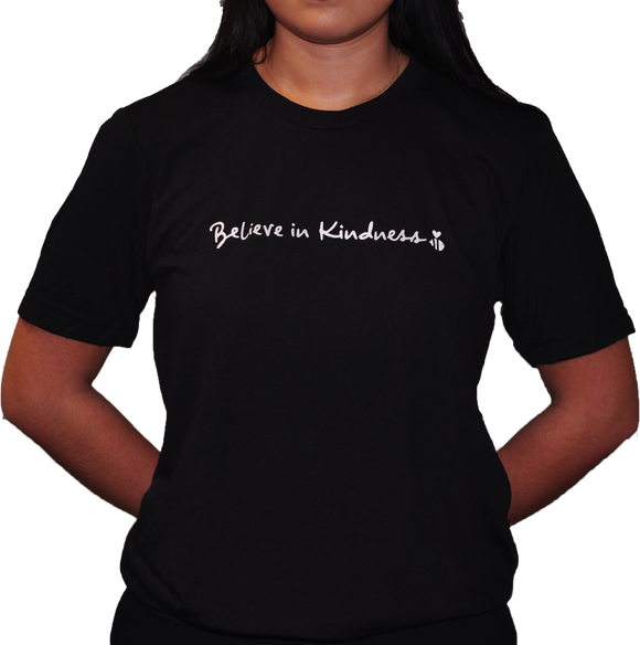 Believe in Kindness Black Tee