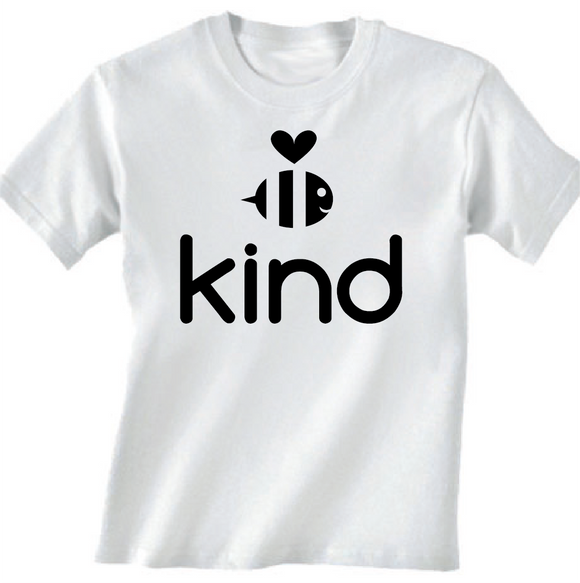 Be Kind White Youth Tee