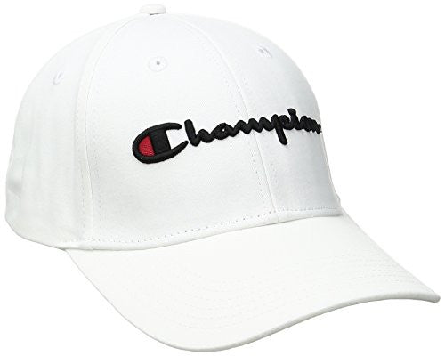 Champion Men's Life Classic Twill Hat, White, OS