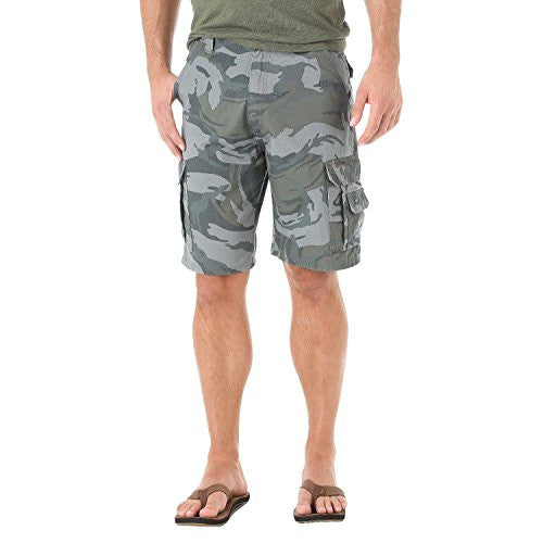 Wrangler Men's Big & Tall Cargo Shorts Camouflage Size 44