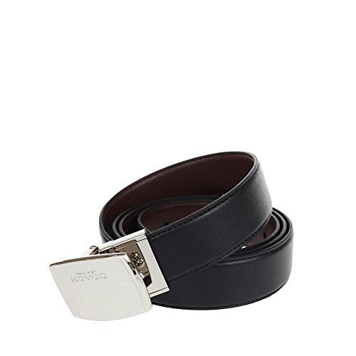 COACH MOD PLAQUE HARNESS CUT-TO-SIZE REVERSIBLE LEATHER BELT (COACH F65185)
