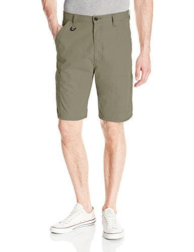 Wrangler Men's Big-Tall Authentics Premium Performance Short, Army Green, 46