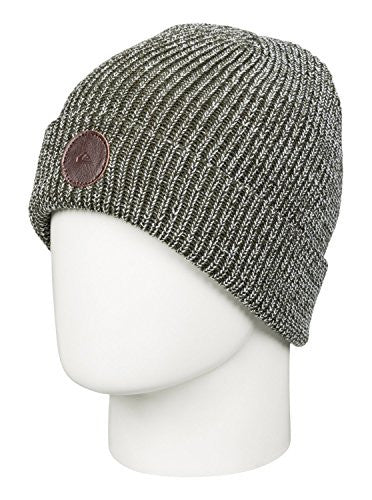 Quiksilver Snow Men's Crew 17 Beanie, Forest Night, One Size