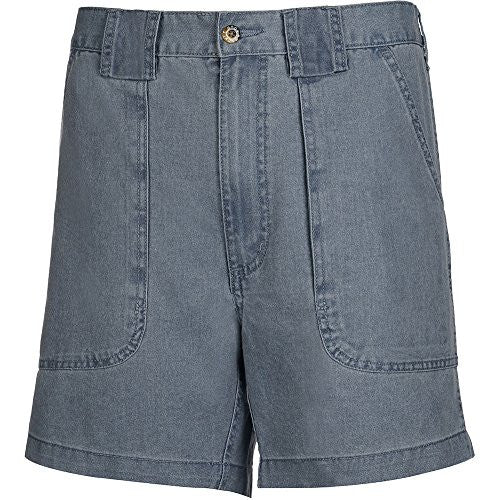 Hook & Tackle Men's Original Beer Can Island Short Big & Tall (48, Chambray)