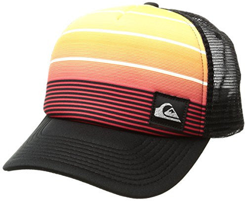 Quiksilver Men's Stripe Play Hat, Quick Red, One Size