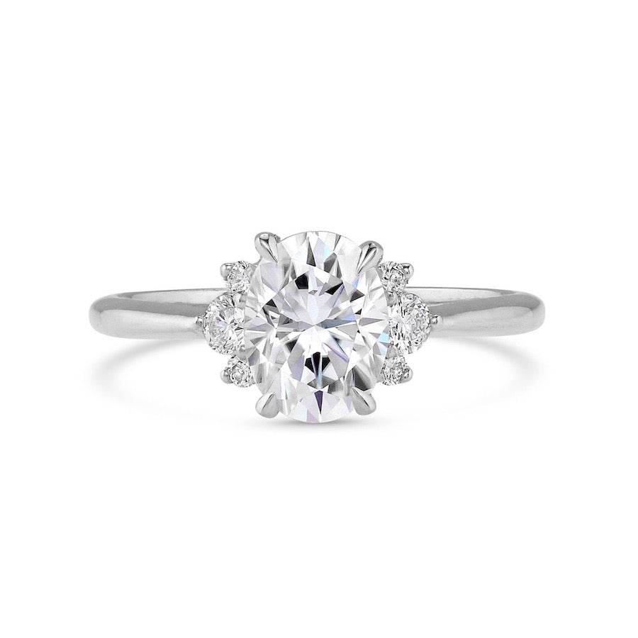 Create Your Own Mirella Half Halo Setting