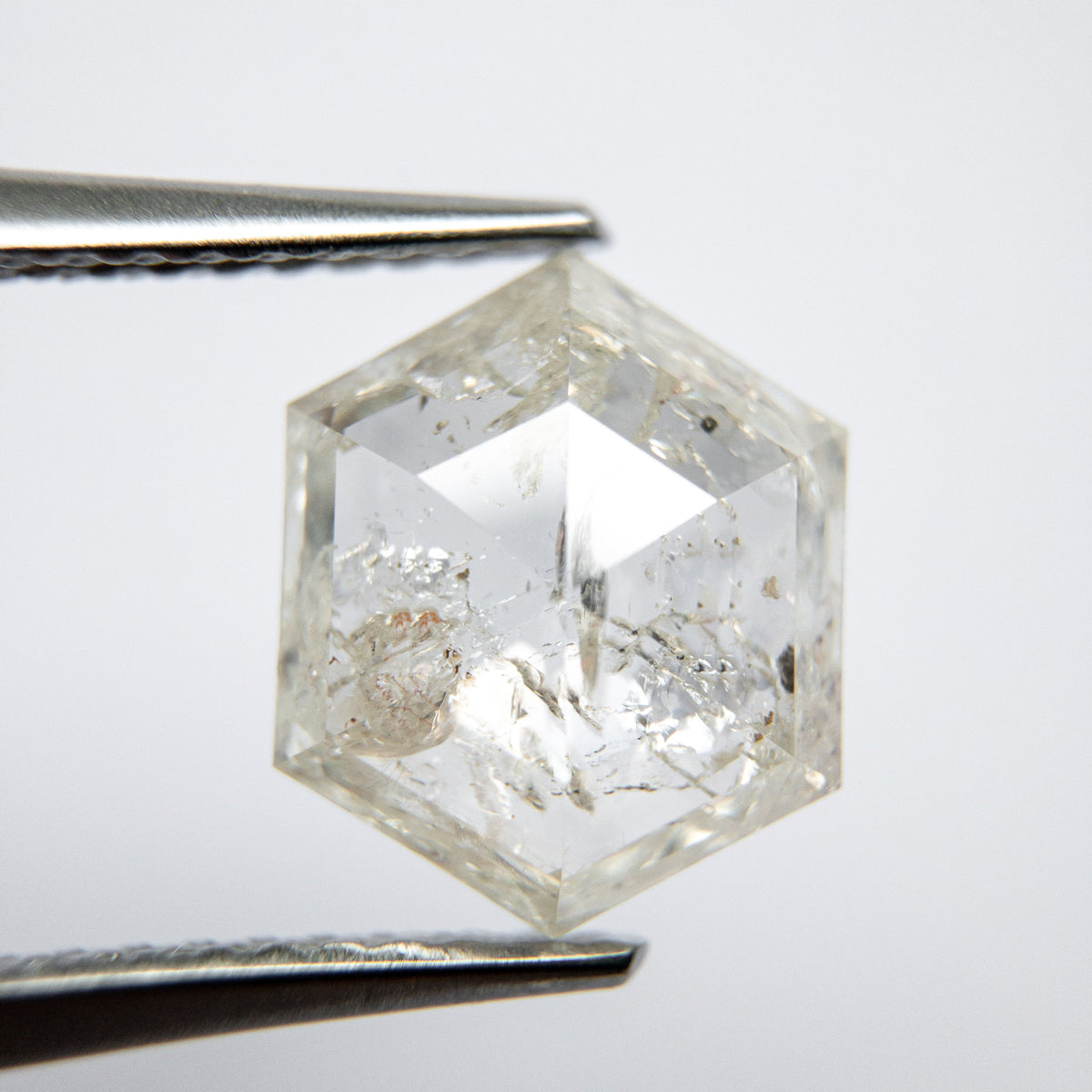 2.29ct 10.06x8.27x3.15 Hexagon Rosecut 18003-02