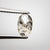 1.38ct 8.73x5.58x2.99mm Oval Rosecut 18288-01