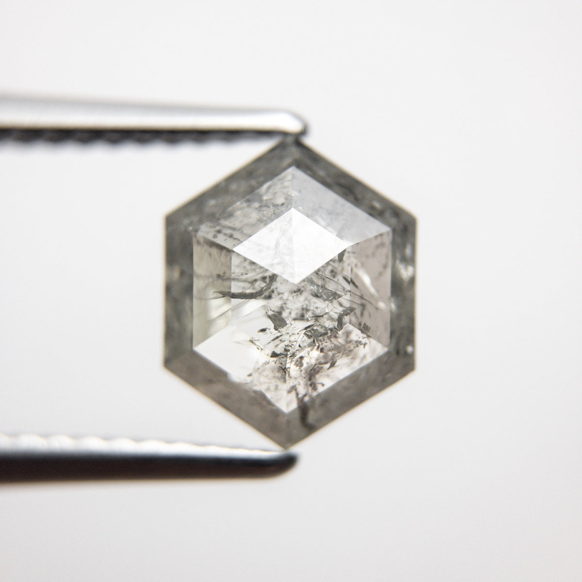 1.87ct 9.13x7.28x3.50mm Hexagon Rosecut 18366-12