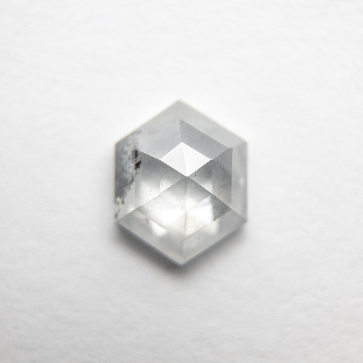 1.10ct 7.39x5.97x3.05mm Hexagon Rosecut 18386-08