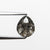 1.49ct 8.30x6.85x3.09mm Pear Rosecut 18408-02