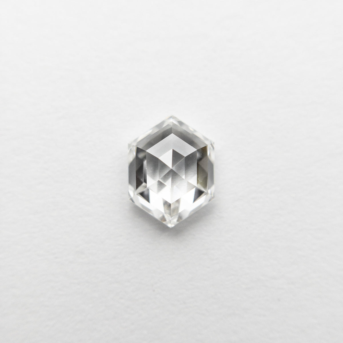 0.71ct 6.27x4.77x2.79mm VVS2 F Hexagon Rosecut 18458-04 🇷🇺