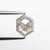 1.28ct 8.70x6.63x2.64mm Hexagon Rosecut 18523-07