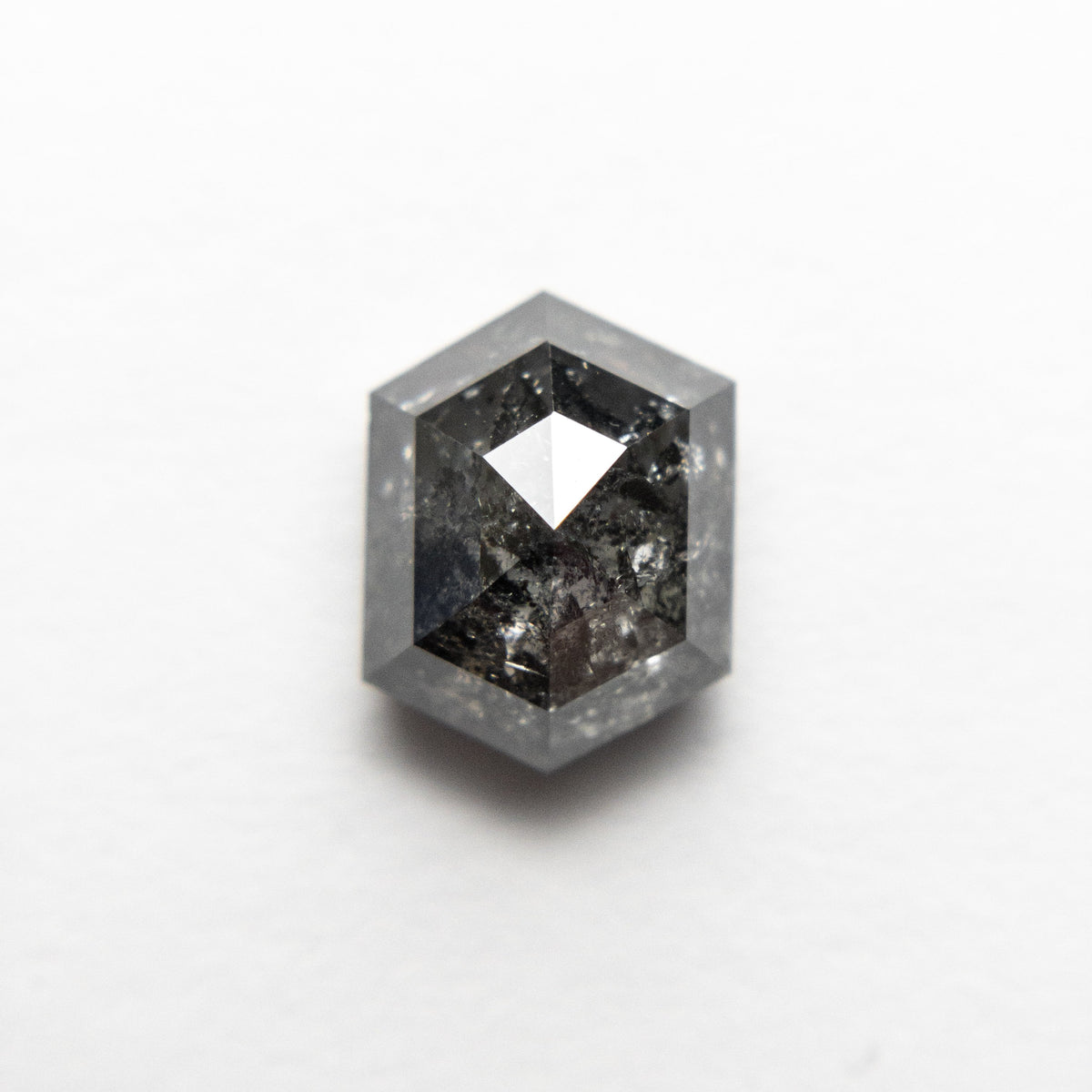 2.05ct 8.26x6.31x4.48mm Hexagon Rosecut 18523-08
