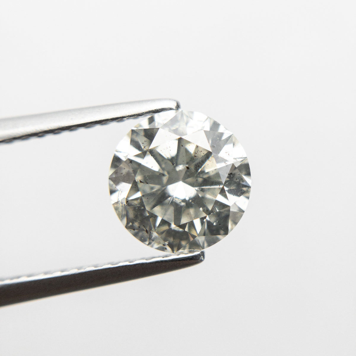 1.57ct 7.41x7.35x4.58mm GIA I1 J Round Brilliant 18692-01