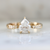 Lumos Icey Pear Cut Diamond Ring